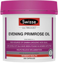 Swisse Ultiboost EPO Evening Primrose Oil 1000mg provides premenstrual support for women