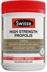 Swisse Ultiboost Propolis High Strength 2000mg supports general health,wellbeing