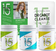 Cabot Health Dr Cabot Cleanse 15 Day Detox Plan is the Ultimate Total Body Cleanse