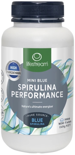Spirulina Performance Extra Strength the perfect spirulina for people who are under increased stress, are immune compromised or just needing extra energy