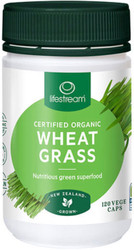 Lifestream Wheat Grass is a certified organic wholesome green food containing vast amounts of naturally occurring minerals, B vitamins, antioxidants and chlorophyll