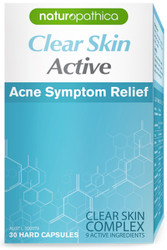 Naturopathica Clear Skin Active Acne Symptom Relief relieves acne, clears breakouts and balances oily skin