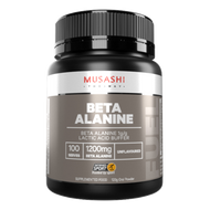 Musashi Beta Alanine is an amino acid which may assist with performance