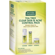 Clear Skin And Acne Control Pack Thursday Plantation