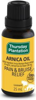 Thursday Plantation Arnica Oil relieves pain and promotes bruise healing