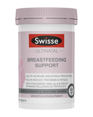 Swisse Ultinatal Breastfeeding Supports increase breastmilk production and provides nutritional support for mother & baby