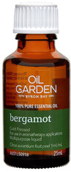 Oil Garden Bergamot Pure Essential Oil brings joy, confidence and motivation for Sore throat, stress, irritability and sleeplessness.