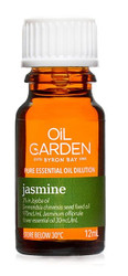 Oil Garden Jasmine in Jojoba Oil is sensual and euphoric for Stress, mild anxiety, nervous tension and menstrual cramps.