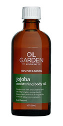 Oil Garden Jojoba Moisturising Body Oil for the symptomatic relief of the symptoms of eczema and relief of the effects of Psoriases