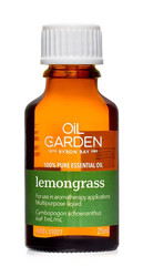 Oil Garden Lemongrass Pure Essential Oil is revitalising, releasing and focusing for: Muscular aches, pains, cramps, spasms and digestion