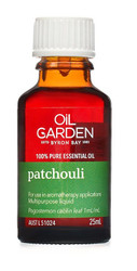 Oil Garden Patchouli Pure Essential Oil brings certainty and relief to anxious states. Use for: Nervous tension, stress and mild anxiety.