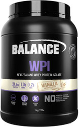 Balance Sports Nutrition WPI Vanilla is high protein, low carb and gluten free to maximise muscle growth & repair