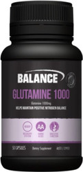 Balance Sports Nutrition Glutamine 1000 helps aid recovery following exercise by replenishing depleted glutamine, supporting recovery post exercise and intense training, buildimg lean muscle tissue and to support gut health and the immune system.
