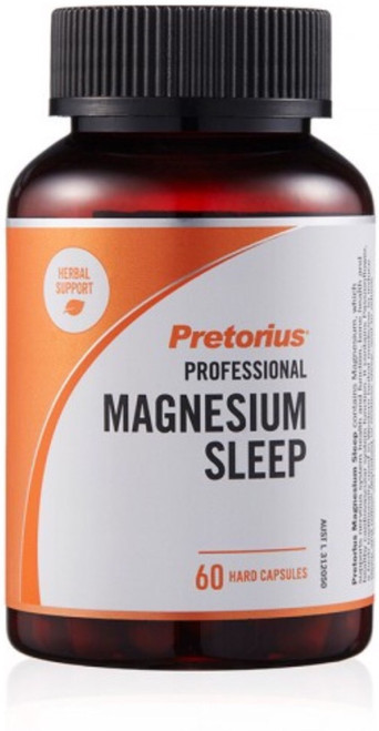 Pretorius Professional Magnesium Sleep contains Magnesium, which supports nervous system health and Passionflower to induce sleep and to relieve nervous tension.