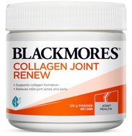 Blackmores Collagen Joint Renew hydrolysed collagen formula to support joint & bone health.