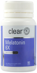 Clear Melatonin 6x Homeopathic provides a 6x homeopathic strength preparation of Melatonin