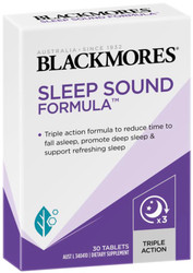 Blackmores Sleep Sound Formula supports your body‰'s natural ability to sleep soundly - insomnia