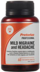 Migraine & Headache 60 Tabs x 5 Pack Pretorius
