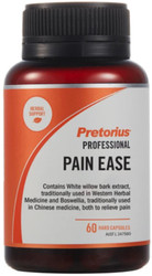 Pretorius Pain Ease relieves joint aches and pains, fever and headache symptoms and decreases symptoms of indigestion, or dyspepsia