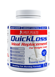 QuickLoss Meal Replacement Tub Creamy Vanilla 1kg Cabot Health