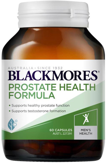 Blackmores Prostate Health Formula provides a comprehensive approach to the maintenance of prostate health
