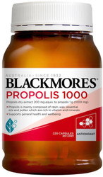 Blackmores Propolis 1000mg is used as a source of nutrition to replenish the body in Traditional Chinese Medicine, helping you to maintain health and wellbeing