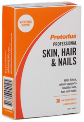 Pretorius Skin, Hair & Nails is a daily regeneration formula to bring back your skin‰'s healthy radiance