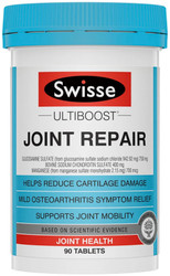 Swisse UltiBoost Joint Repair supports cartilage health, joint mobility and symptomatic relief of osteoarthritis of the knee