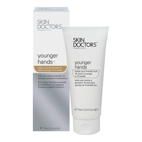 Skin Doctors Younger Hands is a breakthrough anti ageing hand treatment, specifically developed to treat the back of the hands where damage and ageing are most noticeable. Help take 10 years off your hands in just 6 weeks!