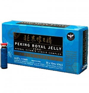 Highest potency quality royal jelly. Peking Royal Jelly is remarkably complete substance that offers in trace amounts virtually every nutritional element needed for a healthy diet