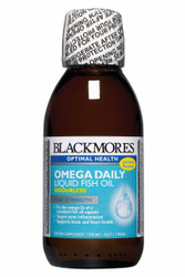 Blackmores Omega Daily Liquid Fish Oil has been especially formulated to provide a high dose of omega-3s in a product designed to deliver quality and freshness