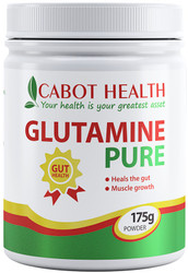 Cabot Health Glutamine Pure Powder is a natural amino acid vital for healthy intestinal function