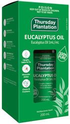 Eucalyptus Oil 100% Pure 200ml Thursday Plantation