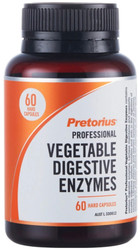 Pretorius Professional Vegetable Digestive Enzymes contains digestive enzymes to support healthy digestive system function and the digestion of lactose  to relieve lactose intolerance