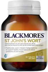 Blackmores St John's Wort relieves nervous tension and anxiety