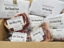 25 LB Grassfed Beef Package - allow up to 1 month for delivery