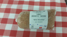 Bulk Turkey Breakfast Sausage