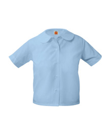 Peter Pan Short Sleeve No Pocket BLU