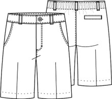 Female Flat Front Short