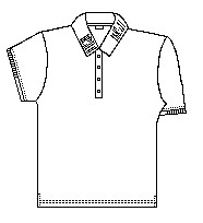 Girls/Juniors Stretch Pique Polo SS No Logo