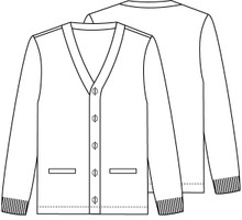 Cardigan With Logo