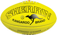 Sherrin Match Footballs- Women's- Yellow- Size 4 (Bag of 6)