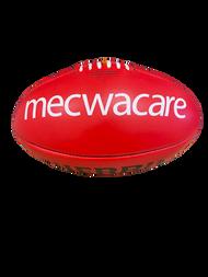 Men's Match Football - Red Sherrin (Mecwacare)