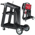 CLARKE WELDING CART STEEL WITH HEAVY DUTY CASTORS GWC-1