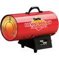 Latest Clarke DEVIL900 Dual Voltage 110/230V INDUSTRIAL GARAGE Gas Heater 24.9kW