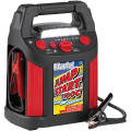 CLARKE JUMPSTART 1100C WITH COMPRESSOR WITH TWO 12V DC ACCESSORY SOCKETS