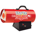 CLARKE LITTLE DEVIL GARAGE HEATER 2 PROPANE SPACE HEATER 230v 35,000 Btu/hr