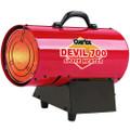 Clarke Devil 700 Propane Fired INDUSTRIAL GARAGE Space Heater 230v  8.8 – 14.6kW