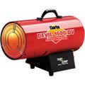 Clarke DEVIL 1600DV Dual Voltage 110/230V INDUSTRIAL GARAGE Gas Heater 36.6kW