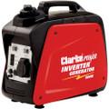Latest CLARKE IG950B 800W INVERTER GENERATOR 230V AC Consumption 0.54ltr/kW/h
